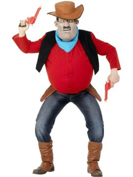 Desperate Dan For Sale - Desperate Dan costume, one size. | The Costume Corner Fancy Dress Super Store
