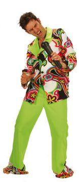 Disco Hippie Man Green For Sale - Disco Hippie Man Green (Hire Costume) | The Costume Corner