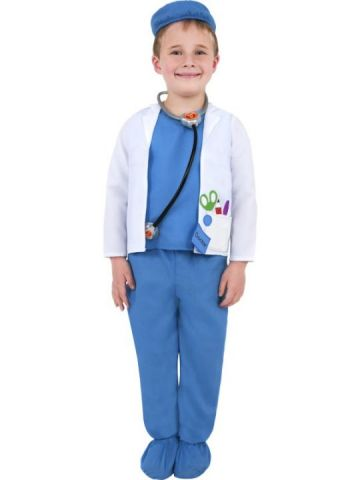 Doctor/Vet For Sale - Doctor/Vet Costume Includes top, hat and trousers. | The Costume Corner Fancy Dress Super Store