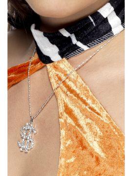 Dollar Sign Medallion For Sale -    The Costume Corner Fancy Dress Super Store