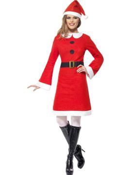 Economy Miss Santa For Sale - Economy Miss Santa Costume, with Fleece Dress | The Costume Corner Fancy Dress Super Store