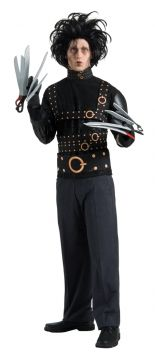 Edward Scissorhands For Sale - Jacket, gloves and wig. | The Costume Corner Fancy Dress Super Store
