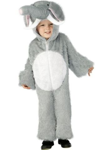 Elephant For Sale - Elephant Costume includes Jumpsuit with Hood. | The Costume Corner Fancy Dress Super Store