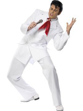 Elvis 68 For Sale - Elvis 68 costume includes jacket, trousers and scarf | The Costume Corner Fancy Dress Super Store