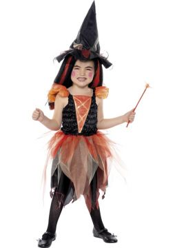Fairy Witch For Sale - Fairy Witch Costume With Skirt, Top, Hat and Wand | The Costume Corner Fancy Dress Super Store