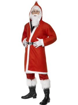Father Xmas For Sale - Father Xmas Costume, Gown, Beard and Belt, Bargain, in Display Bag | The Costume Corner Fancy Dress Super Store