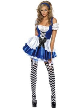 Fever Alice For Sale - Fever Alice Costume, with Dress and Headband | The Costume Corner Fancy Dress Super Store