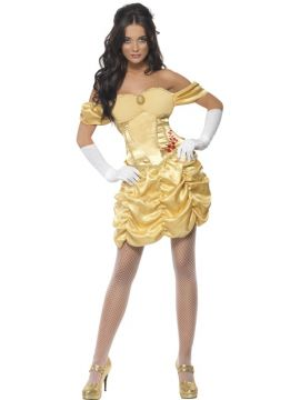 Golden Princess For Sale - Fever Golden Princess Costume, with Dress | The Costume Corner Fancy Dress Super Store