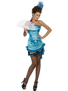 Lady Elegance - Burlesque For Sale - Fever Lady Elegance Costume, with Skirt and Top | The Costume Corner Fancy Dress Super Store