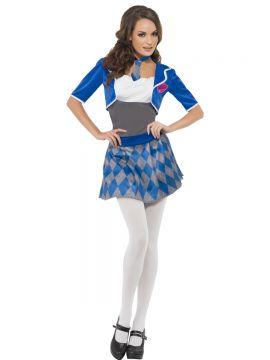 Fever Naughty Schoolgirl Costume For Sale - Fever Naughty Schoolgirl Costume, with Dress, Shrug and Tie, in Display Bag | The Costume Corner Fancy Dress Super Store