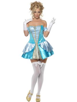 Princess Cinders For Sale - Fever Princess Cinders Costume, with Dress. | The Costume Corner Fancy Dress Super Store