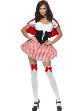 Red Riding Hood For Sale - Fever Red Riding Hood Costume, Dress and Cape with Hood   The Costume Corner Fancy Dress Super Store
