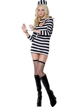 Fever Sexy Convict For Sale - Fever Sexy Convict Costume, with Dress and Hat | The Costume Corner Fancy Dress Super Store