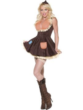 Sultry Scarecrow For Sale - Fever Sultry Scarecrow Costume, with Dress and Hat | The Costume Corner Fancy Dress Super Store