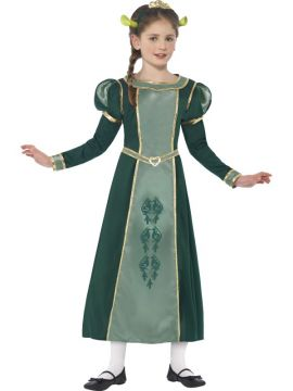 Fiona - Shrek Childs For Sale - Dress & headband with tiara &  ears | The Costume Corner Fancy Dress Super Store