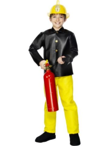 Fireman For Sale - Fireman Costume includes jacket and trousers.   The Costume Corner Fancy Dress Super Store