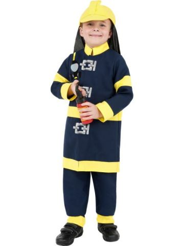 Fireman - Boy For Sale - Fireman Boy Costume includes hat, top and trousers. | The Costume Corner Fancy Dress Super Store