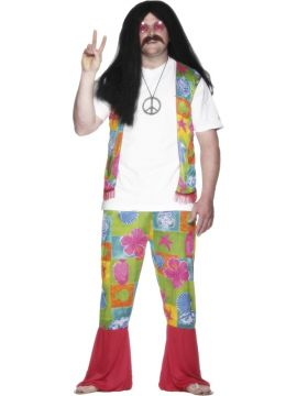 Flower Power Man For Sale -  | The Costume Corner Fancy Dress Super Store