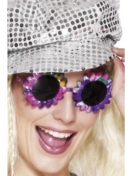 Flower Power Specs For Sale - Flower Power Specs great for a 70s themed party! | The Costume Corner Fancy Dress Super Store
