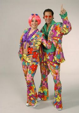 Flower Power Suit Male For Sale - Flower Power Suit Male (Hire Costume) | The Costume Corner