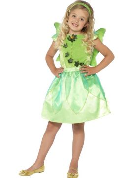 Forest Fairy For Sale - Little girls will love dressing up in the Forest Fairy Costume! With a green dress, felt wings and headband, they'll be set to spread their wings and sprinkle some fairy ... | The Costume Corner Fancy Dress Super Store