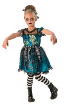 Frankie Girl For Sale - Which mad professor's lab have you escaped from? The bolt that runs right through your head looks like the work of Dr Frank. Aaaargh! Too late! Stagger into a town near you and... | The Costume Corner Fancy Dress Super Store