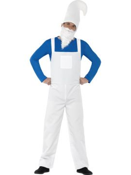 Garden Gnome - Mens For Sale - Includes Top, Dungarees, Beard and Hat | The Costume Corner Fancy Dress Super Store