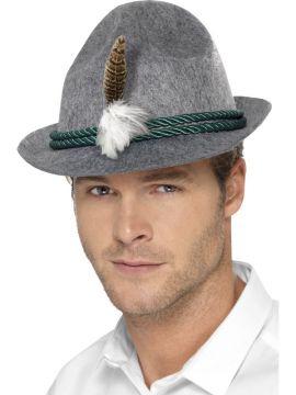 German Trenker Hat For Sale - Felt Trenker Hat with Feather | The Costume Corner Fancy Dress Super Store