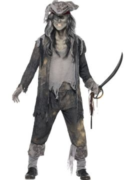 Ghost Ship Ghoul For Sale - Ghost Ship Ghoul Costume, with Coat, Trousers and Hat | The Costume Corner Fancy Dress Super Store