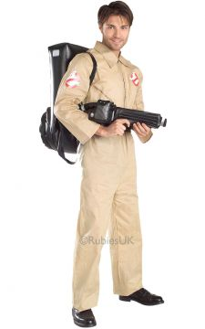 Ghostbuster For Sale - Ready to take on Zuul, Gozer and other shape-shifting deities? Jump into your uniform and join the Ghostbusters the paranormal exterminator service. With your proton pack on yo... | The Costume Corner Fancy Dress Super Store