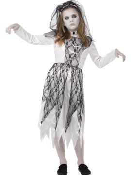 Ghostly Bride For Sale - Dress, veil & neckpiece | The Costume Corner Fancy Dress Super Store