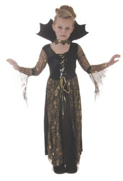 Spiderella Witch Girl For Sale - Contains Dress & Hat