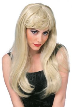 Glamour Wig - Blonde For Sale - Long Blonde Glamour Wig. | The Costume Corner Fancy Dress Super Store