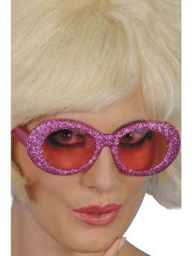 Glitter Specs For Sale - Pink glitter spces | The Costume Corner Fancy Dress Super Store