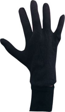 Gloves - Black For Sale - One pair of men's black cotton gloves. | The Costume Corner Fancy Dress Super Store