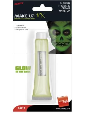 Make-Up - Glow in the Dark For Sale - Glow in the Dark Cream, 28ml / 1 oz Tube. | The Costume Corner Fancy Dress Super Store
