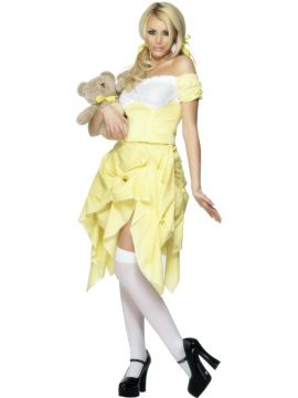 Goldilocks For Sale - Fever Goldilocks Costume, With Skirt and Top | The Costume Corner Fancy Dress Super Store