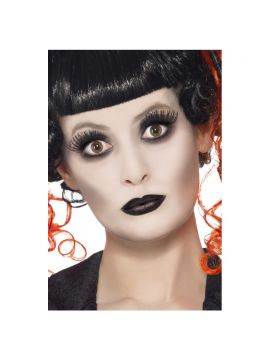 Gothic Make Up Set For Sale - Gothic Make Up Set, includes Facepaint, Lipstick and Eyelashes, on Display Card | The Costume Corner Fancy Dress Super Store