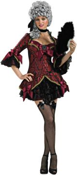 Lady Versailles For Sale - Dress & stockings. | The Costume Corner Fancy Dress Super Store