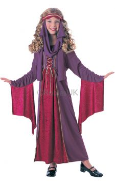 Gothic Princess For Sale - See how many knights and noblemen line up when you step out of your castle's Great Hall, all trying to catch a glimpse of your elegant attire! It's simply perfect for any medie... | The Costume Corner Fancy Dress Super Store