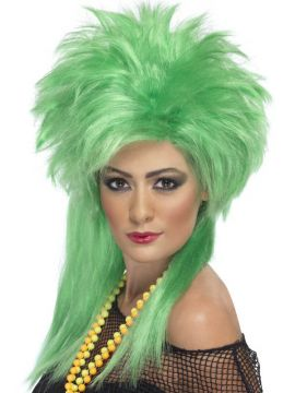 Groovy Green Wig For Sale - Groovy Green Wig | The Costume Corner Fancy Dress Super Store