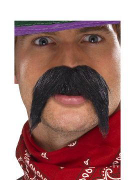 Gringo Tash For Sale - Big and Bushy Gringo Tash | The Costume Corner Fancy Dress Super Store