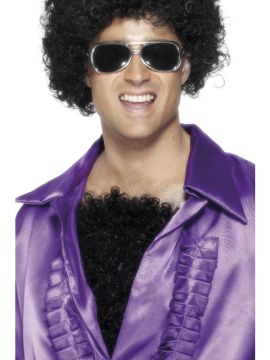 Hairy Chest For Sale - Deluxe Black Hairy Chest | The Costume Corner Fancy Dress Super Store