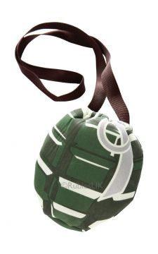 Hand Grenade Bag For Sale - So you've bought the perfect army outfit for your party but there's no pockets. Where will you put your phone and purse now? This Hand Grenade Bag is the key to completing your... | The Costume Corner Fancy Dress Super Store