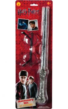 Harry Potter Wand & Glasses For Sale - Harry Potter kit contains wand & glasses | The Costume Corner Fancy Dress Super Store