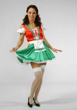 Heidi For Sale - Heidi Dress Short (Hire Costume) | The Costume Corner
