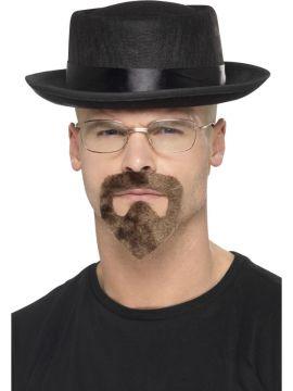 Heisenberg Kit For Sale - Breaking Bad - Hat, glasses & goatee | The Costume Corner Fancy Dress Super Store