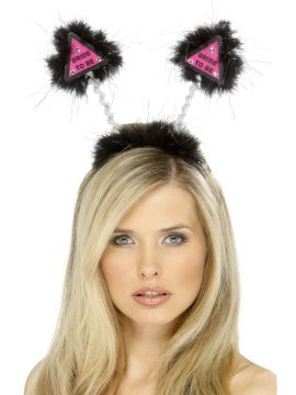 Hen Boppers For Sale - Bride to be black and pink hen night boppers. | The Costume Corner Fancy Dress Super Store