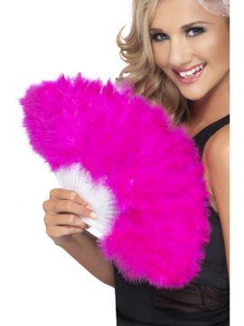 Hen Night Marabou Fan For Sale - Hen Night Marabou Fan, Pink, in Display Pack | The Costume Corner Fancy Dress Super Store