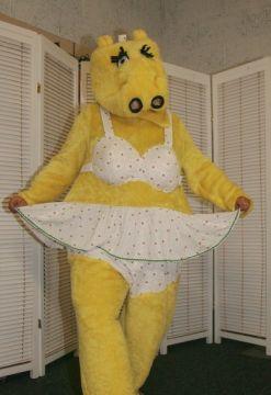 Hippo Mascot For Sale -    The Costume Corner